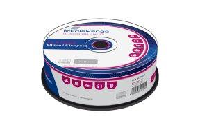CD-R MEDIARANGE 80' 700mb 52x CAKE/25